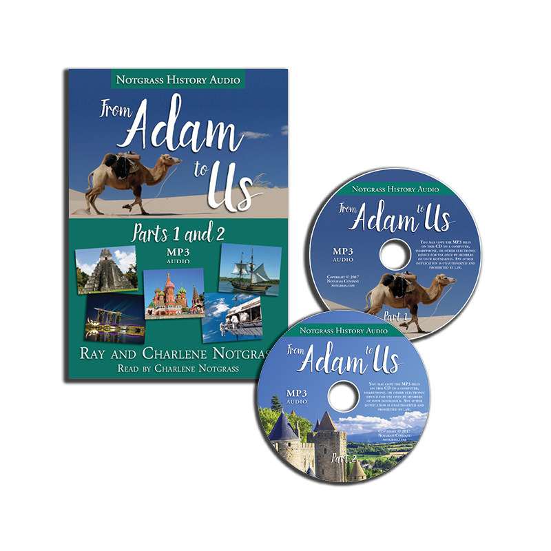 From Adam to Us - MP3 Audio