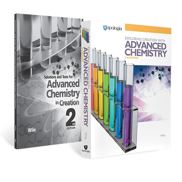 Advanced Chemistry in Creation Homeschool Set