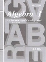 Saxon Algebra 1 - Tests Only