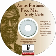 Amos Fortune, Free Man Study Guide on CD-ROM