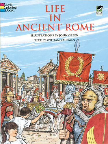 Ancient Rome Coloring Book (price includes US S&H)