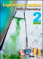 Exploring Creation with Chemistry, 2nd ed. Text
