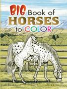 Big Book of Horses Coloring (price includes US S&H)