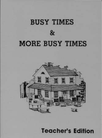 Busy Times / More Busy Times Teacher's Edition