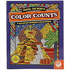Color Counts - World Travel (price includes US S&H)
