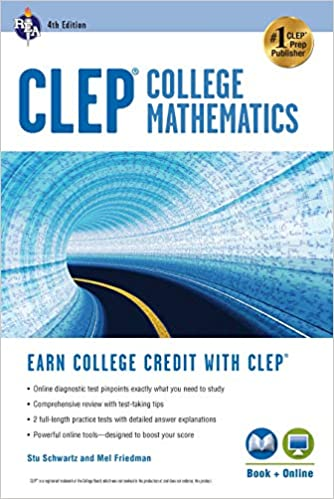 CLEP - College Mathematics with Online Practice