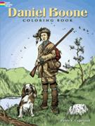Daniel Boone Coloring Book (price includes US S&H)