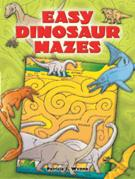 Easy Dinosaur Mazes (price includes US S&H)