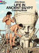 Ancient Egypt Coloring Book (price includes US S&H)