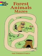 Forest Animal Mazes (price includes US S&H)