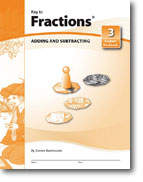 Key to Fractions - Set of 4 Workbooks