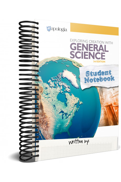 Exploring Creation with General Science (3rd) Student Notebook