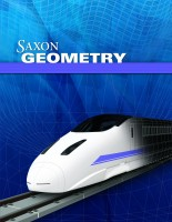 Saxon Geometry Test & Answers Packet