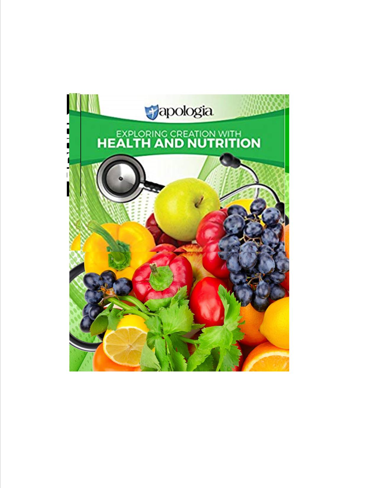 Exploring Creation with Health and Nutrition Textbook