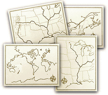 Hollings Map Set (price includes US S&H)