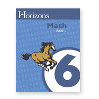Horizons 6th Grade Math Book 1