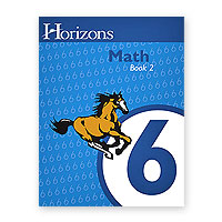 Horizons 6th Grade Math Book 2