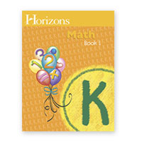 Horizons Kindergarten Math Book 1