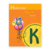 Horizons Kindergarten Math Book 2