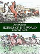 Horses of the World Coloring (price includes US S&H)