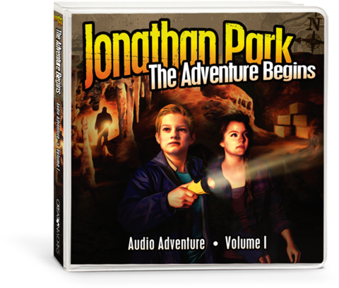 Jonathan Park 1: The Adventure Begins - Audio CD's