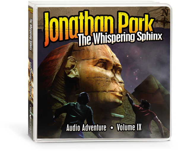 Jonathan Park 9: Whispering Sphinx - Audio CD's