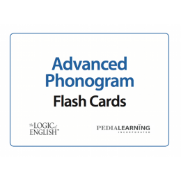 Logic of English Advanced Phonogram Flash Cards