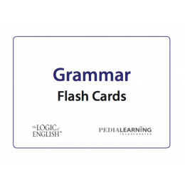 Logic of English Grammar Rule Flash Cards
