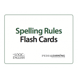 Logic of English Spelling Rule Flash Cards