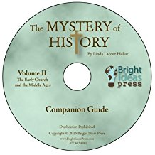 Mystery of History II - Companion Guide CD