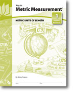 Key to Metric Measurement - Set of All 4 Workbooks plus Answers