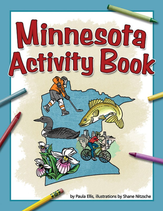 Minnesota Activity Book (price includes US S&H)