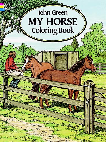 My Horse Coloring Book (price includes US S&H)