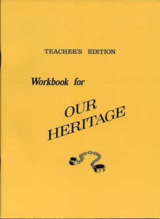 Our Heritage - Teacher's Edition