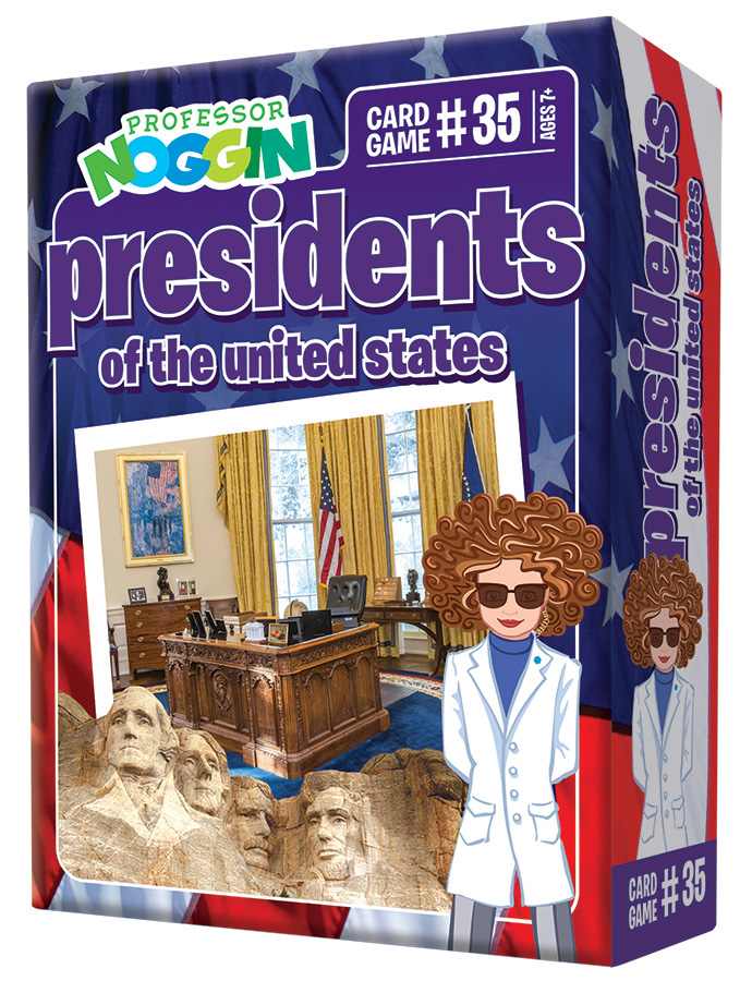 Prof Noggin - Presidents (price includes US S&H)