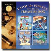 Patch the Pirate Treasure Box Vol. 1 - CD
