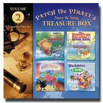Patch the Pirate Treasure Box Vol. 2 - CD