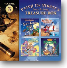 Patch the Pirate Treasure Box Vol. 3 - CD