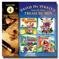 Patch the Pirate Treasure Box Vol. 4 - CD