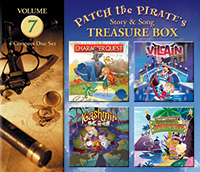 Patch the Pirate Treasure Box Vol. 7 - CD
