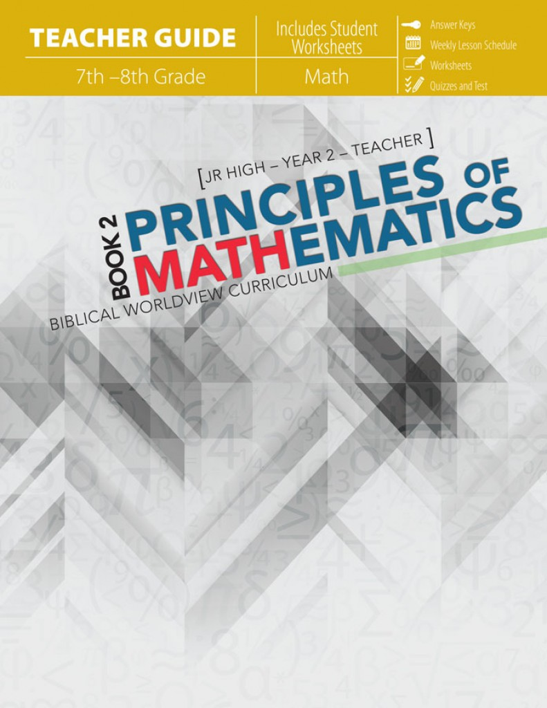 Principles of Mathematics - Book 2 Teacher Guide / Workbook
