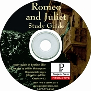 Romeo and Juliet Study Guide on CD-ROM