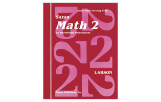 Saxon Math 2 Workbook Set