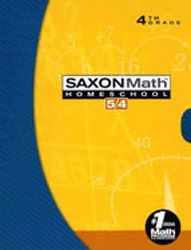 Saxon Math 54 Homeschool Kit