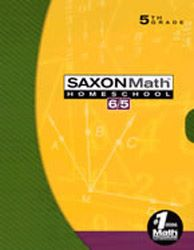 Saxon Math 65 Homeschool Kit