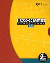 Saxon Math 76 Homeschool Kit