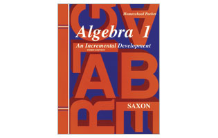 Saxon Algebra 1 Homeschool Kit PLUS Solutions