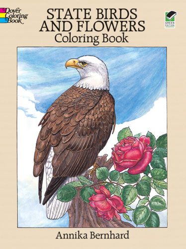 State Birds & Flowers Color (price includes US S&H)