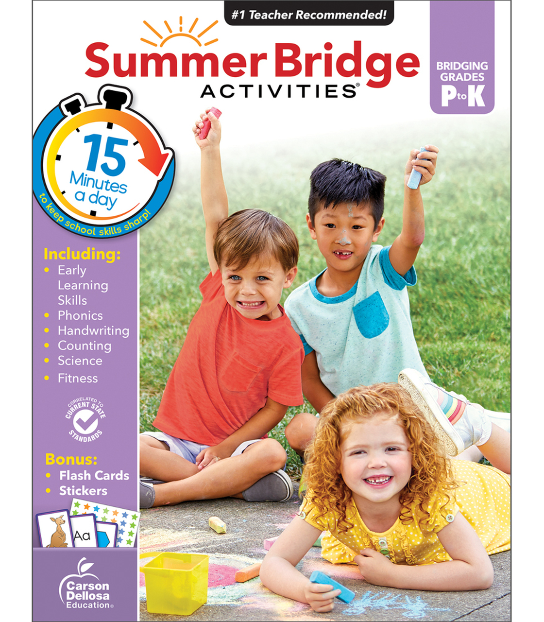 Summer Bridge Activites - Bridging Preschool to Kindergarten