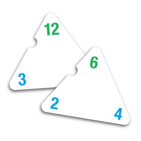 Triangle Flash Cards - Multiplication/Division